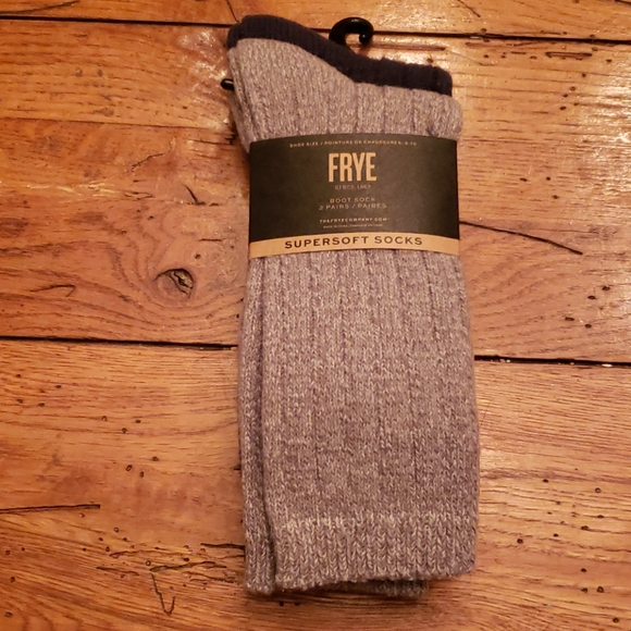 Frye Accessories - New - FRYE Supersoft Boot Socks....2 Prs.